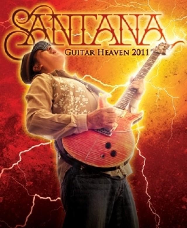 "Carlos Santana - okładka płyty ""Guitar Heaven: The Greatest Guitar Classics Of All Times"""