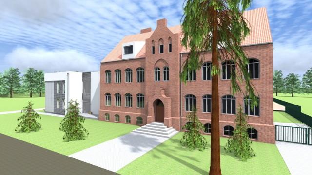 Powiat poznański rozbuduje 100-letnią szkołę w Murowanej Goślinie