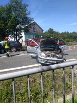 Wypadek na DK8 w Szalejowie Górnym