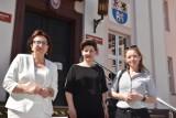 Burmistrz Białej Piskiej odwiedziła lęborskie starostwo. Tematem spotkania były zagadnienia opieki społecznej i budowa Domów Dziecka