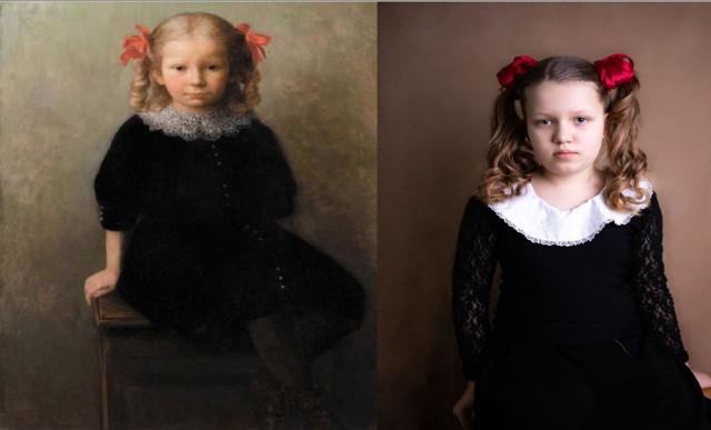 Oto galeria zdjęć inspirowanych znanymi obrazami