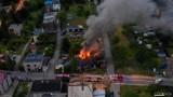 Zabójstwo w Rudzie Śląskiej. 34-latek podpalił swoją ofiarę, spłonął dom