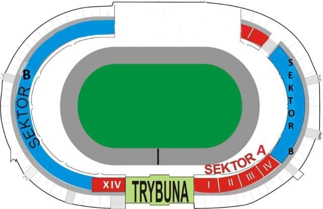 Z uwagi na przebudowę stadionu przy ulicy Sportowej, w sezonie 2019 kibice nie będą mogli zasiąść na trybunie na prostej przeciwległej do startu