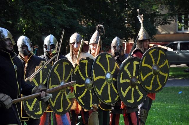 Słupsk 1000 lat temu: Spotkanie w Parku Powstańców Warszawskich