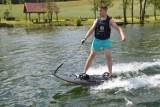 Bezpieczna zabawa podczas pikniku nad jeziorem Lednik w Miastku| ZDJĘCIA + WIDEO