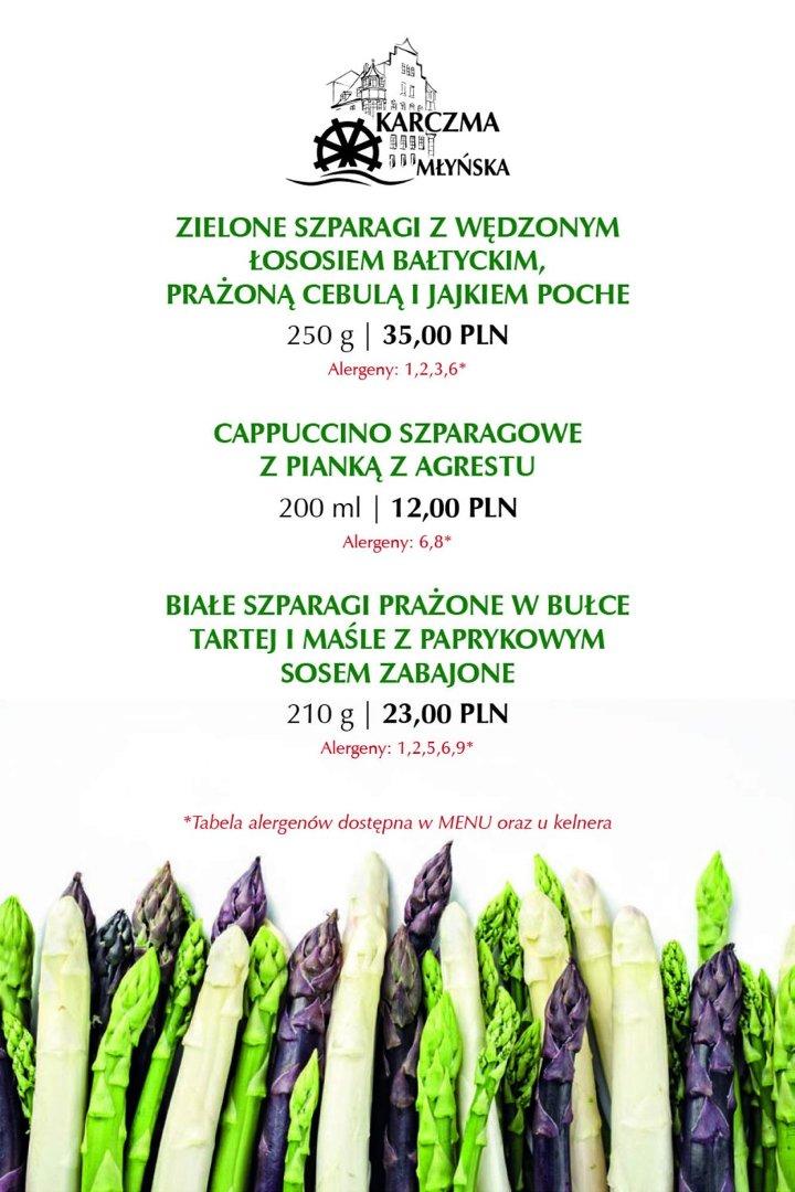 Sezon Na Szparagi W Karczmie Młyńskiej Naszemiastopl