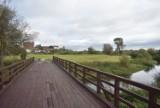 Mostek na Wierzycy w Gniewie znów służy pieszym