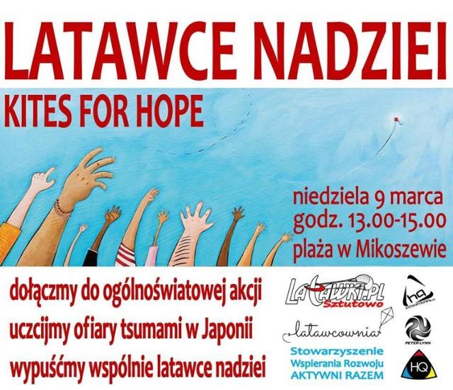 Latawce Nadziei już 9 marca na plaży w Mikoszewie