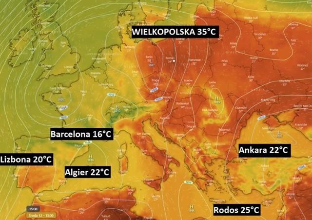 Upał w Polsce: 35 stopni Celsjusza już 12 czerwca. Chłodniej na... Rodos. Zmiany klimatyczne przyniosą gigantyczne kontrasty w pogodzie