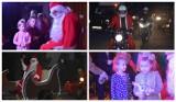 Mikołaj do dzieci z gminy Mieścisko przybył w motocyklowej eskorcie [ZDJĘCIA]