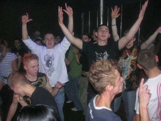 DJ Hazel w brzeskim Klubie Big Star - 2007 rok.