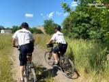KMP w Częstochowie. Dzielnicowi z dwóch komisariatów pełnią dyżury na rowerach