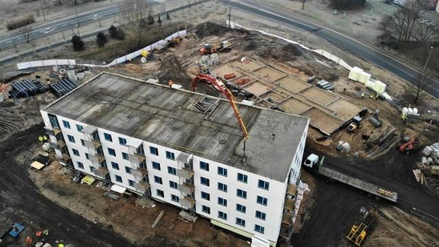 Budowa osiedla, grudzień 2020
