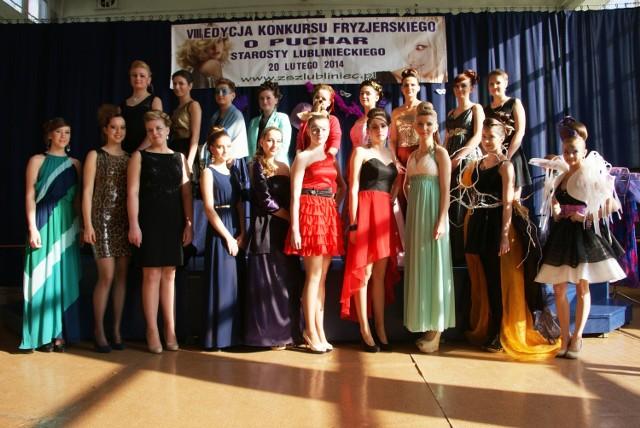Konkurs Fryzjerski w ZSZ w Lublińcu