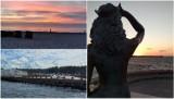 Piękna Ustka na Instagramie. Zachody słońca, plaża i Syrenka [ZDJĘCIA]