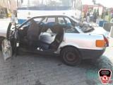 Wypadek autobusu, trzech samochodów i motoru przy obwodnicy Chojnic. Ćwiczenia strażaków i innych służb