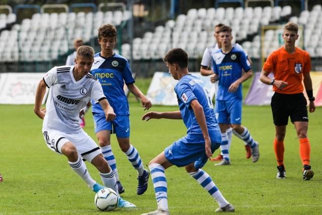 Piłkarze Legii Warszawa prowadzą w Centralnej Lidze Juniorów U-18.