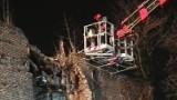 Wojkowice: Zawaliła się ściana kamienicy przy ulicy Sobieskiego [ZDJĘCIA]