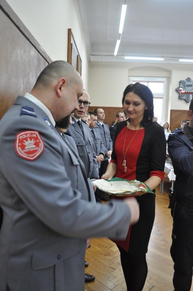 Policjanci przełamali się opłatkiem - 21 grudzień 2015