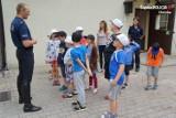 W wakacje dzieci odwiedziły policję konną w Chorzowie ZDJĘCIA