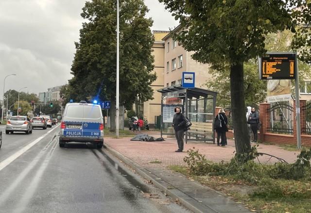 Na miejscu poniedziałkowej tragedii w Kielcach