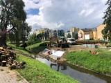 Wichura zrujnowała dolinę Silnicy w Kielcach. Jak długo potrwa naprawa?