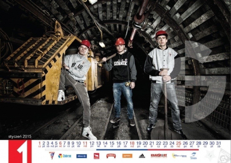 238842544 Górnik Zabrze - kalendarz na rok 2015 [ZDJĘCIA] - NaszeMiasto.pl
