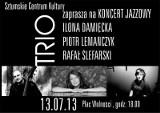 Koncert jazzowy w Sztumie - wystąpi znakomite trio