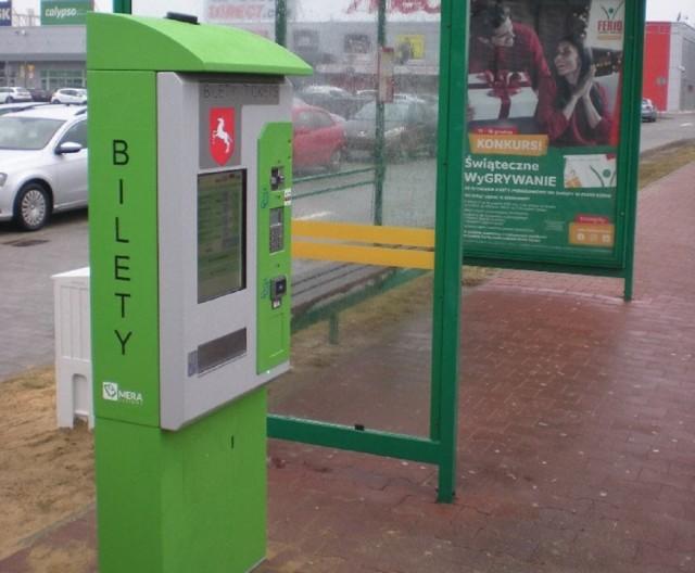 W Koninie i gminach ościennych stoi już 11 biletomatów stacjonarnych MZK