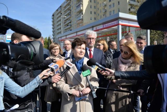 Nowe wiaty przystankowe w Warszawie