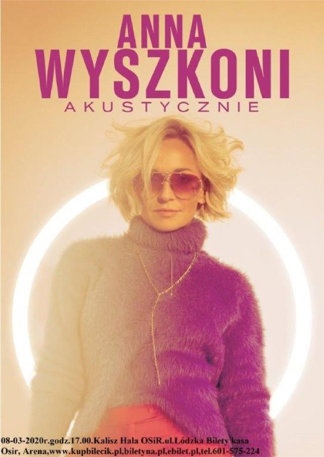 """Anna Wyszkoni wystąpi w Kaliszu w ramach trasy koncertowej """"Czułość proszę"""""""
