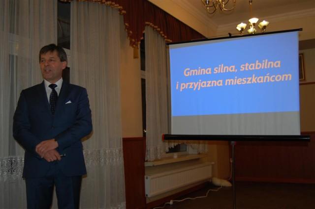 Wybory 2014 - kandydat Piotr Fikus na burmistrza Zukowa