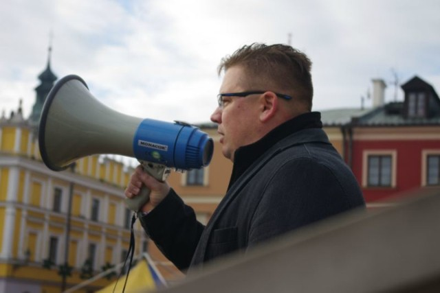 KOD Zamość: Manifestacja w obronie demokracji i Trybunału Konstytucyjnego