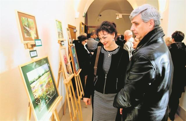 Wystawa nauczycieli u Panien w Piotrkowie