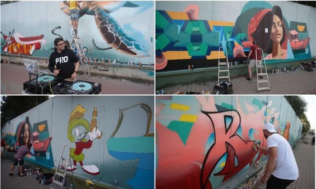 Trwa Urban Art Festiwal 2021 w Szczecinie