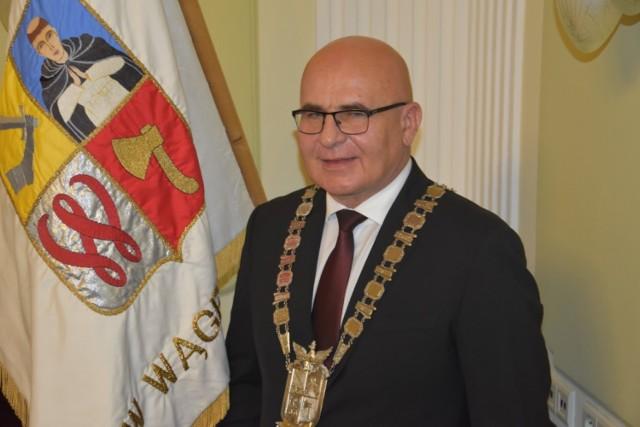 Fotografie z pierwszej sesji rady miejskiej -  listopad 2018