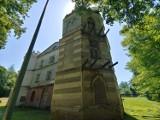 Zakończono najtrudniejszy etap remontu Pałacu Humnickich w Birczy koło Przemyśla [ZDJĘCIA]