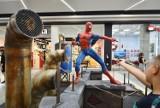 Thor i Spiderman w galerii Gemini Park w Tychach