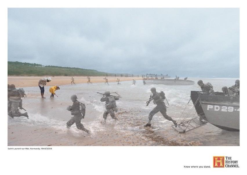 Normandia, Saint-Laurent-sur-Mer:...