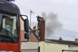 Pożar w jednym z domostw przy ul. Sieniutowej w Zdunach [ZDJĘCIA]