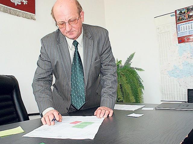 Jerzy Chwała prezentował plan zagospodarowania terenu
