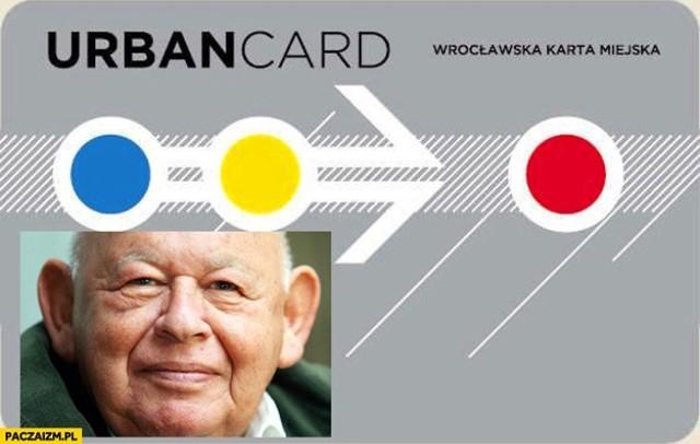 Zobacz na kolejnych slajdach memy o Wrocławiu - posługuj się myszką, klawiszami strzałek na klawiaturze lub gestami