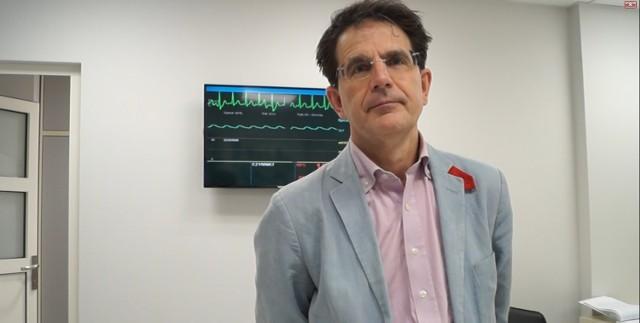 Szpital w Jastrzębiu: prof. Laurent Spelle z wizytą