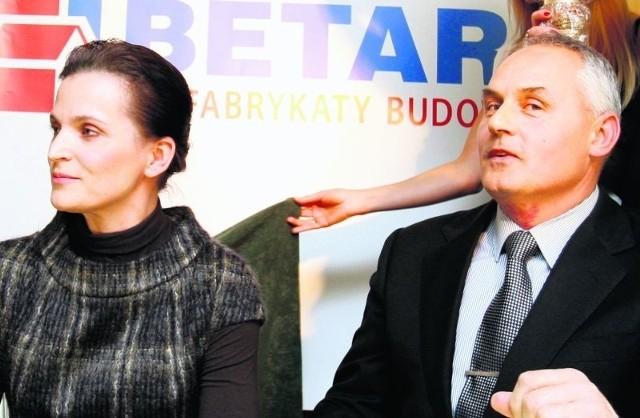Beata i Artur Dziechcińscy nadal chcą wspierać speedway