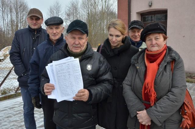 Mieszkańcy Grocholic zebrali dokładnie 354 podpisy pod petycją o wstrzymanie budowy masztu koło remizy