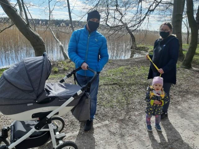 Tak mieszkańcy cieszą się z możliwości spacerów w parku