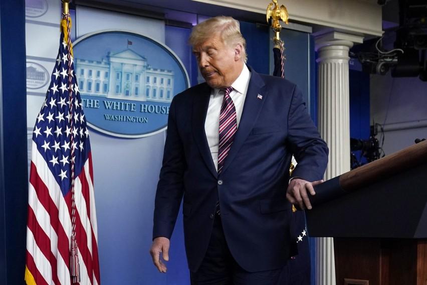 Donald Trump w Białym Domu:  Chcą ukraść wybory, chcą je sfałszować, nie możemy na to pozwolić