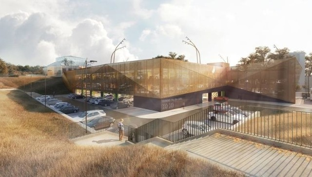 Tak ma wyglądać nowy parking wielopoziomowy - wizualizacja