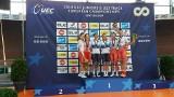 Grad medali kolarek z Darłowa na Młodzieżowych Mistrzostwach Europy