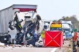 Śmiertelny wypadek na autostradzie A4. Trasa zablokowana przez wiele godzin
